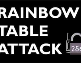 RAINBOW TABLE ATTACK
